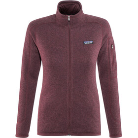 Patagonia Better Sweater Jas Dames, dark currant